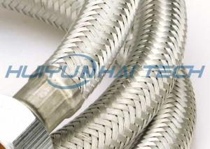 China High - Tech Stainless Steel Wire Sleeve For Cable Superior Abrasion Protection on sale