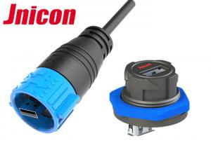 China A Type IP Rated USB Connectors Male To Female High Durability UV Resistance on sale