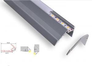 China Stair Led Profile Channel , C027 Recessed Aluminium Profiles For Led Lighting on sale
