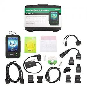 China Original Latest OEMScan GreenDS GDS+3 GDS+3 OBDII auto diagnostic scanner online update with Printers 50 Cars + Truck on sale
