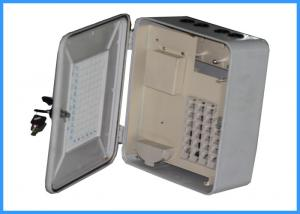 China Waterproof FTTH Fiber Optic Terminal Box With Non - Metallic Structure on sale