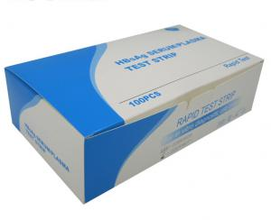 China One Step Disposable HBsAg SERUM/PLASMA test strip on sale