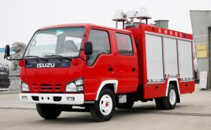 China Véhicule d'ouvrier chargé des pompes du feu de Dongfeng XBW 200gallon on sale