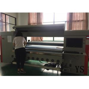 China Flatbed Dx5 Colour Digital Printing Machines 1440 Dpi Digital Printer For Fabric on sale