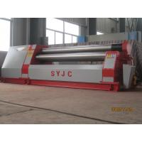 China W11Y-6*6000 hydraulic symmetrical three roller plate bending rolls machine carbon steel bending rolling on sale