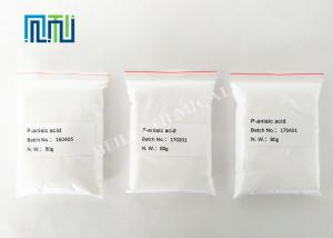 China Methoxybenzoic Acid Chemical Raw Materials Antiseptic Properties supplier