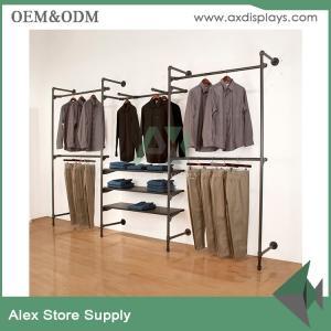 China Fashion retail display metal hanging store fixture retail fixture display showcase on sale