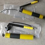 Graisseur à pression principal en acier jaune de tube et d'aluminium 600cc