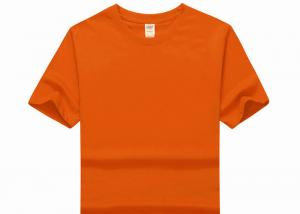 China Compressed O-Neck Mens Cotton T Shirts Causual Style Dye Technics on sale