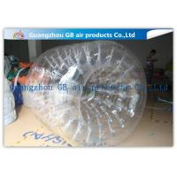 PVC Transparent Inflatable Rolling Ball , Funny Huge Inflatable Walk On Water Ball