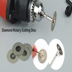 China Diamond Rotary Cutting Disc For Cutting Gemstone , Glass, Stone lucy.wu@moresuperhard.com on sale