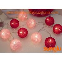 China Decorative Outdoor String Lights , Battery Powered LED Fairy String Lights on sale