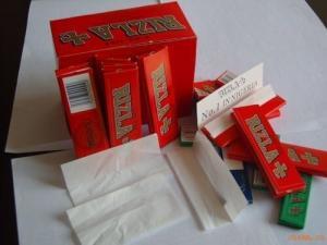 China Automatic Gluing Cigarette Slitting Folding Tobacco Roll Paper Making Machine Equipment on sale
