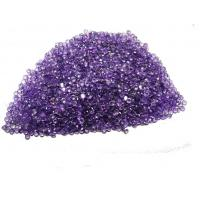 Purple Natural Gemstone Beads Brilliant Cut For Peridot Earings