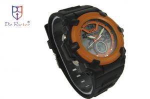 China ROHS CE Waterproof plastic watch case rubber watch  band Multifunction Digital Watch on sale