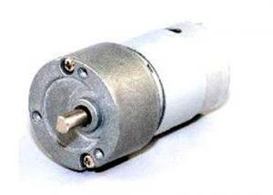 China Permanent Magnet DC Gear Motor 27.7mm Body Size With Shielding Cover RS-395PH on sale