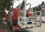 China 4x2 Drive 6 Cylinder Diesel Engine Aerial Ladder Fire Truck 177Kw 2400r/min wholesale
