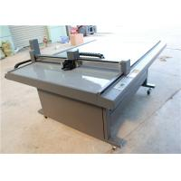 CNC Oscillating Knife Cloth Cutting Machine , Fabric Sample Cutter 1000 Mm/S
