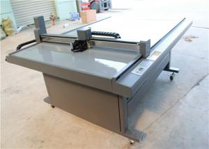 China CNC Oscillating Knife Cloth Cutting Machine , Fabric Sample Cutter 1000 Mm/S on sale