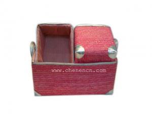 China Wholesale Handmade Storage Basket on sale