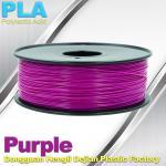 filamento 3.0mm roxo 1kg/rolo da impressão do PLA 3D de 1.75mm para bens de MakerBot