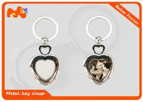 China Zinc Alloy Sublimation Keychain Blanks For Christmas Party Decorations on sale