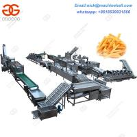 China Fully Automatic Potato Chips Line|Best Potato Chips Making Line|Potato Chips Processing Line Suppliers on sale