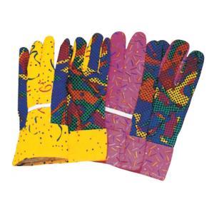 China Le PVC a pointillé des gants de coton de jardin d'hommes de preuve de piqûre/gant 41005 on sale