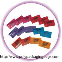 China Customized Printed Shampoo Bags Cooling Gel Foil Packaging Bags on sale