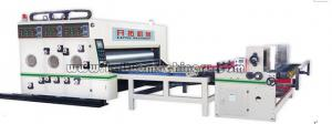 China Semi-Automatic Flexo Printer Slotter Die-cutter with outside feeder on sale