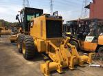 Heavy Equipment Used Motor Grader With Ripper , Cat 140h Motor GraderYear 2014
