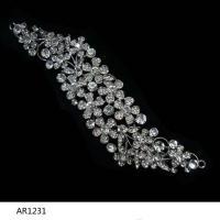Elegant crystal diamond bridal wedding crown tiaras hair comb