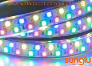 China Superbright 5050 SMD LED Rope Light  , Double Rows Magic RGB LED Rope Light on sale