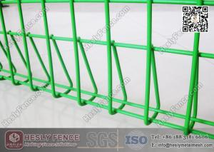 China China BRC Welded Wire Mesh Fence Panels   HESLY China Roll Top Mesh Fence Factory on sale