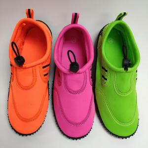 China ISO14001 Flexible Water Aqua Shoes Lightweight With Neon Color on sale