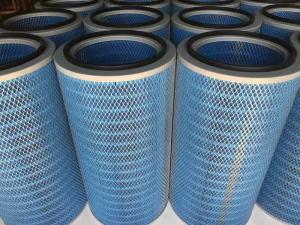 China PTFE Membrane Gas Turbine Filters / Gas Turbine Inlet Filters Dust Extraction on sale
