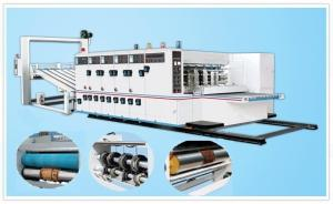 China Automatic Flexo Printer Slotter Die-cutter Stacker, Automatic Back-kick Feeding on sale