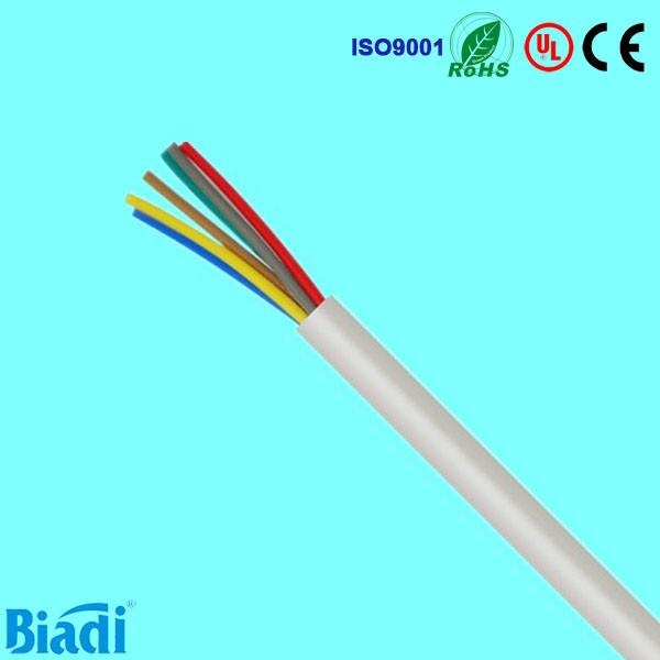 Alarm cable with stranded bare copper conductor from Shenzhen ...