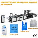 non woven box bag making machine Low price with best quality for India customer