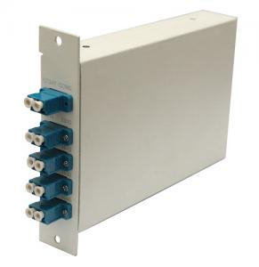 Quality FWDM LGX module MUX DEMUX with 12 LC ports , 1310 nm / 1490 nm / 1550nm for sale