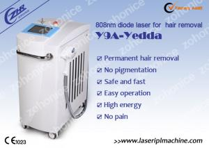 China white 808nm 10hz Diode Laser Hair Removal Machine For Birthmark on sale