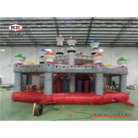 Advertising Inflatable Bouncer Mushroom Bouncing Combo Playground With CE Air Blower