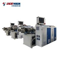 Durable PVC Ceiling Production Line , PVC Wall Panel Machine Hot Stamping Laminating
