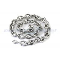 Custom Specialty Hardware Fasteners , Welded SUS316 Stainless Steel Twisted Link Chain DIN 764