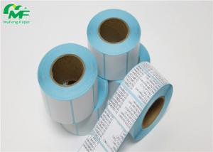 China 50um Transparant PET Adhesive Sticker Roll Solvent Adhesive 80g Glassine Paper on sale
