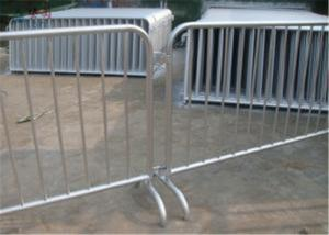China Traffic outdoor crowd control barriers 6 feet crowd safety barriers for road on sale