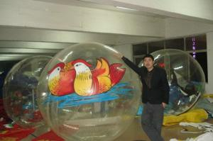 China Large colorful inflatable walk on water ball / Dancing Ball with Customized LOGO on sale