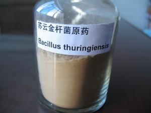 China CAS 68038-71-1 BT Bacillus Thuringiensis Insecticide Pest Control High Content on sale
