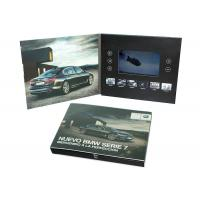 Print Your Artwork LCD Video Brochure Video Greeting Card with Memory of 128MB to 8GB to Play Your Videos