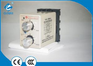 China Electrical DC Voltage Control Relay Adjustable Over And Undervoltage Threshold on sale